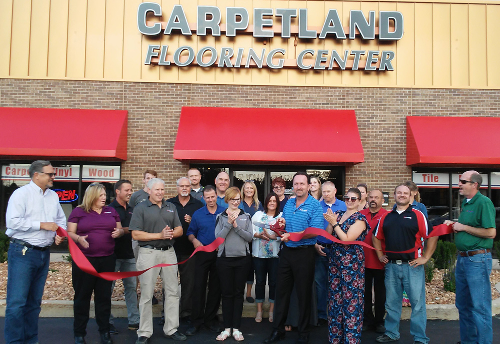 Yesterday We Were Honored To Attend The Grand Opening Of Carpetland Usa Flooring Center Kenosha Has Been Servicing Southeast Wisconsin For