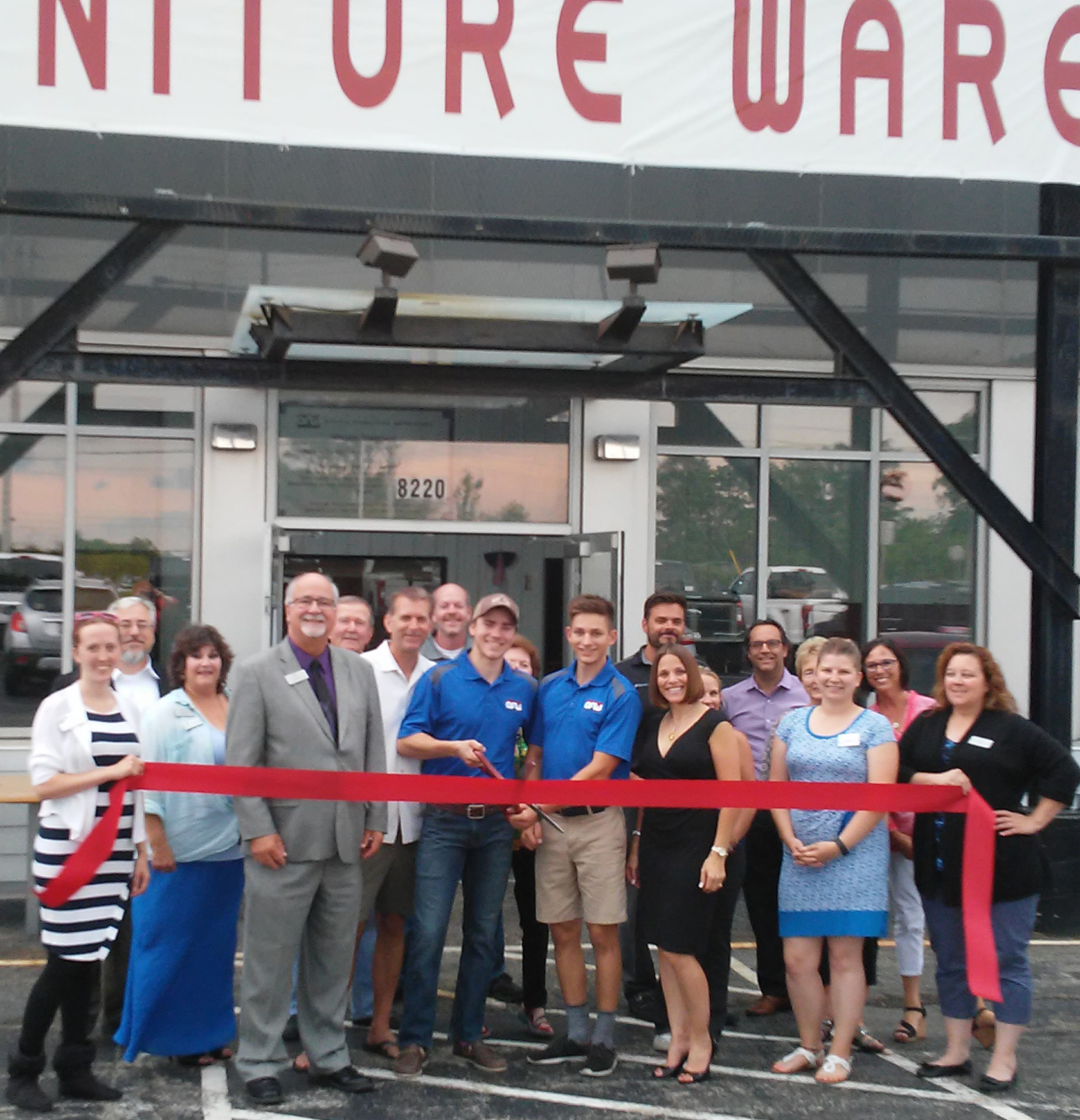 Today We Kicked Off The Grand Opening Celebration Of Office Furniture  Warehouse Of Kenosha With A Ribbon Cutting Ceremony. Businesses Throughout  Wisconsin ...